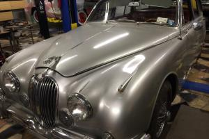 1961 Jaguar MK II 3.8 Litre, 4 spd for sale in NY w/ service records- ORIGINAL Photo