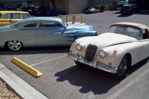 jaguar 1958 with a corvette engine mounted  - project Photo