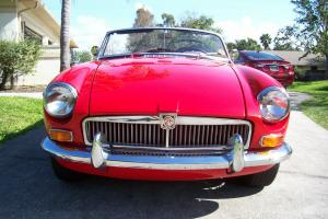 1968 MGB    FLORIDA Photo