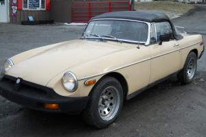 1979 MGB CONVERTABLE Photo