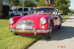 1958 MGA COUPE 1958  -  Beautiful & Classy Photo