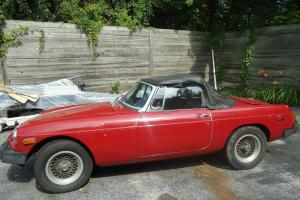 Red MGB Convertible