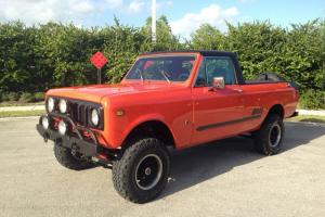 1979 Scout Terra II with a 5.3L Gm Motor! Lifted and ready to go!