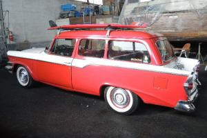 RARE! Vintage 1957 Studebaker Parkview 180-hp SweepstakesV8 2-Door Station Wagon