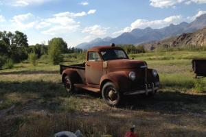 1941 Studebaker Truck M15-20T Pre-WW II Very Rare All Original (Texas Barn Find)
