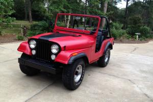1974 Jeep CJ-5 Renagade (Restored)