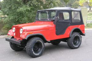 1972 Jeep CJ5 Retired Fire Dept Vehicle with 7,500 Original Miles-Log Book Incl.