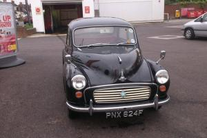 1968 MORRIS MINOR 1000 BLACK. Very Original, Solid car