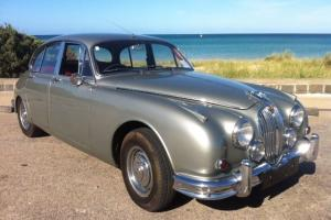 1964 Jaguar MK II 3 4 Manual Overdrive Photo