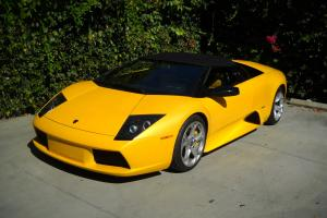 2005 LAMBORGHINI MURCIELAGO ROADSTER PEARL YELLOW 6-SPEED MANUAL!