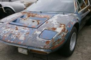 LAMBORGHINI URRACO PARTS CAR