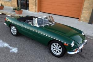 1972 MGB Roadster Restored! Much $$ Spent! Hard to find in this condition