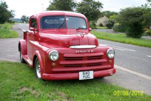 1949 DODGE PICK UP TRUCK,THIS IS A FANTASTIC HOTROD,MOT/TAX exempt. *NO SWAPS*