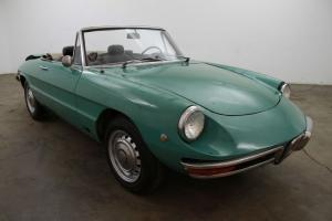 1969 Alfa Romeo Duetto, turquoise w/black interior, just came out of storage