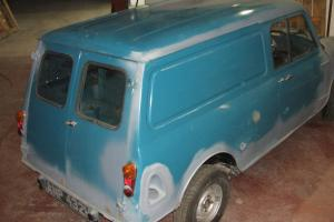 Classic 1969 Mini Van restoration project ( rolling chassis )