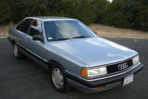 1986 AUDI 5000 CS TURBO - ALL ORIGINAL - GARAGE KEPT - MUST SEE -THIS IS THE ONE