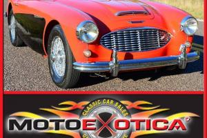 1958 AUSTIN HEALEY 100-6, RESTORED, WIRE WHEELS, OVER DRIVE, INVESTMENT GRADE !!