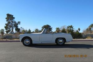 NO RESERVE 1964 AUSTIN HEALEY MKIII NO RUST MATCHING #'S CONVERTIBLE ROADSTER Photo