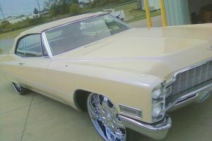 1968 Cadillac DeVille Base Convertible 2-Door 7.7L now with video
