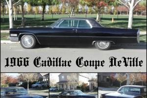 1966 Cadillac Coupe DeVille Base Hardtop 2-Door 7.0L