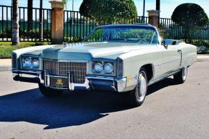 The right one baby 1971 Cadillac Eldorado Convertible fully restored simply mint
