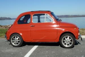 1970 FIAT 500L, original 500 series, licensed and inspected, No Reserve!