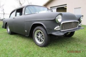 1956 Chevy 2dr post Gasser style hot rod