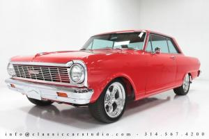 1965 Chevrolet Chevy II Nova SS Custom: ZZ350, 700 R4, Leather, A/C & Much More!