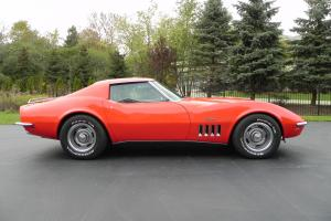 1969 Corvette T-Top Coupe L68 427-400 Tri-Power Factory Air