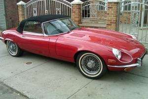 1974 Jaguar XKE Base 5.3L V12 Automatic Matching Number Car E-type Series III Photo
