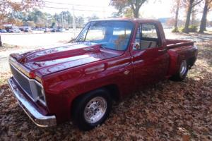 1976 CHEVY C-10 STEPSIDE PICK-UP CUSTOM STREET ROD TUBBED Photo