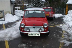 Classic mini flame red 998 CC