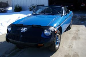 1980 MGB convertible, restored, 115k, spare parts
