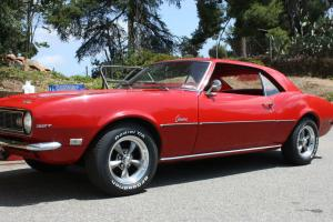 CAMARO  1968   327 BASE MODEL  LOW MILES CLASSIS 1 OWNER  #s MATCHING  No Reserv