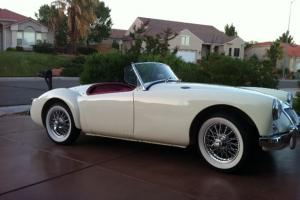 Stunning 1957 MGA Photo