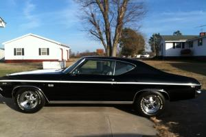 Black with white chevelle stripes, Excellent condition, Supersport (SS), Antique