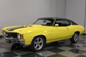 396 CI BIG-BLOCK, CUSTOM YELLOW PAINT, NICELY RESTORED, BUCKETS, CONSOLE, 17""