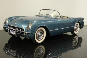 1954 Roadster Fully Restored 1 of 300 Pennant Blue Numbers Matching 235ci 6 Cyl