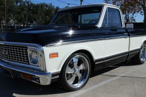 1972 CHEVROLET C10 PICKUP FRESH RESTO 350 700R4 VINTAGE AIR SHORT BED FLEETSIDE