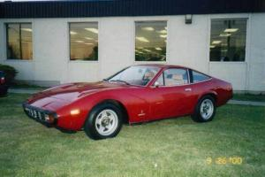 1972 Ferrari 365 GTC/4, V12, all original, low milieage, Red with Tan leather.