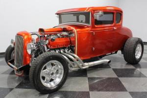 ALL STEEL, 351 CLEVELAND V8, TOP QUALITY BUILD, BOXED MODEL A FRAME, NICE CAR!
