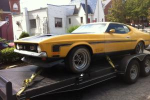 """1971 Mustang 351 Boss """"True Barn Find"""", bought from original owner with 10,661"""