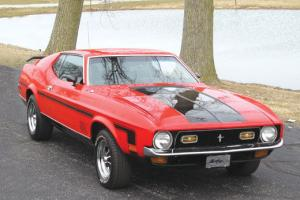 1971 Ford Mustang Mach I Fastback 2-Door 5.0L