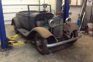 1932 FORD CABRIOLET - RARE EARLY PRODUCTION BARN FIND