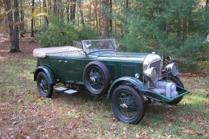 1930 BENTLEY Blower Touring Car