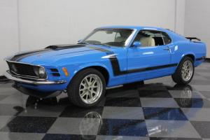 351CI CLEVELAND, BOSS 302 TRIBUTE, GRABBER BLUE, AUTO, VERY STRAIGHT FASTBACK