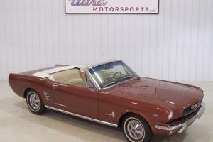 1966 Ford Mustang Convertible-289!- Automatic