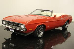 1971 Ford Mustang Convertible 351ci V8 Automatic AC Power Steering and Brakes