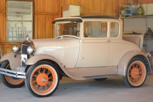 1929 Ford Model A with Rumble Seat
