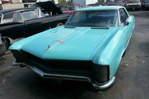 1965 Buick Riviera. Driver, GS trim, straight body,Rosewood steering wheel,
